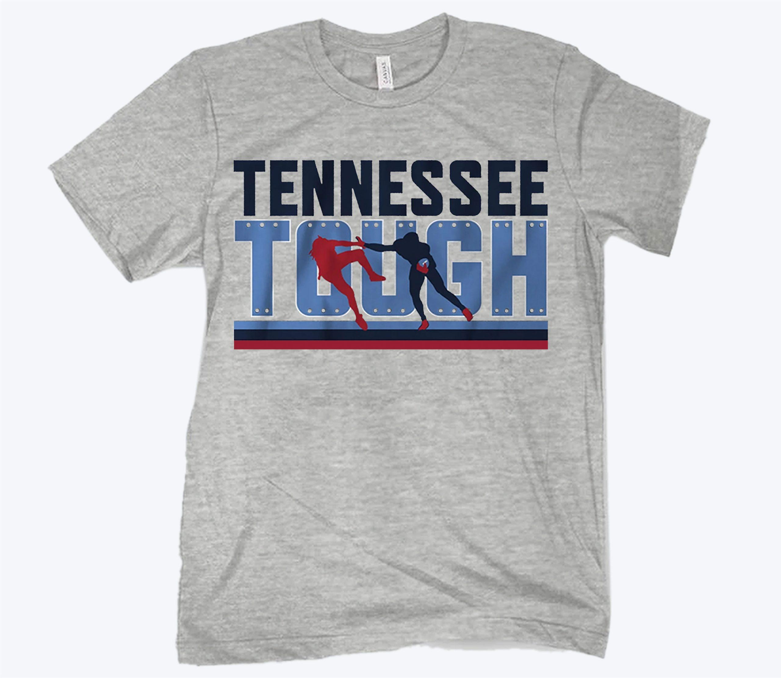 Tennessee Tough T-Shirt - Nashville Football