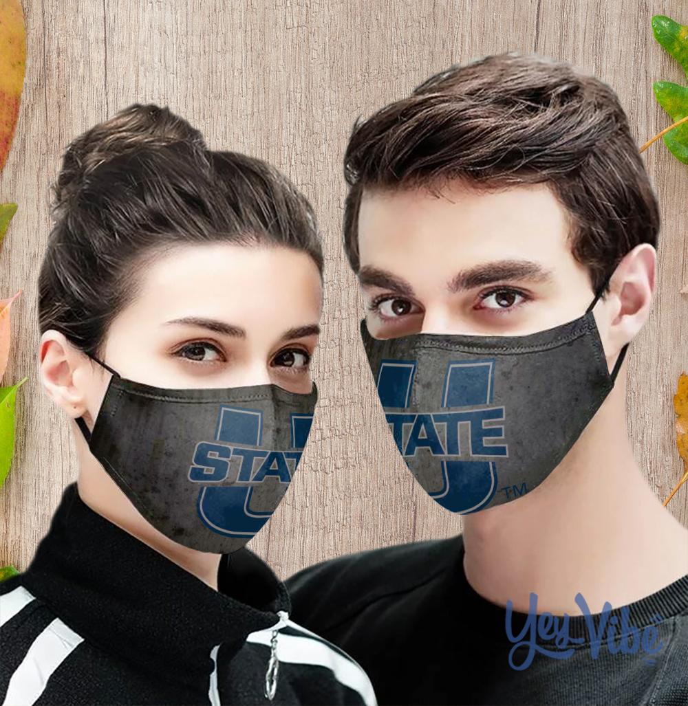 USU Aggies Face Mask