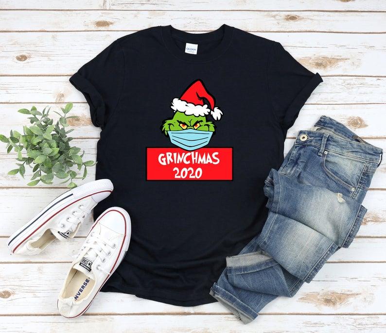 Christmas Quarantine 2020 T-Shirt Christmas T-Shirt Funny Christmas Trending Outfit Family