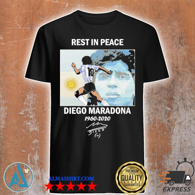 Rest in peace diego maradona 1960-2020 Shirts