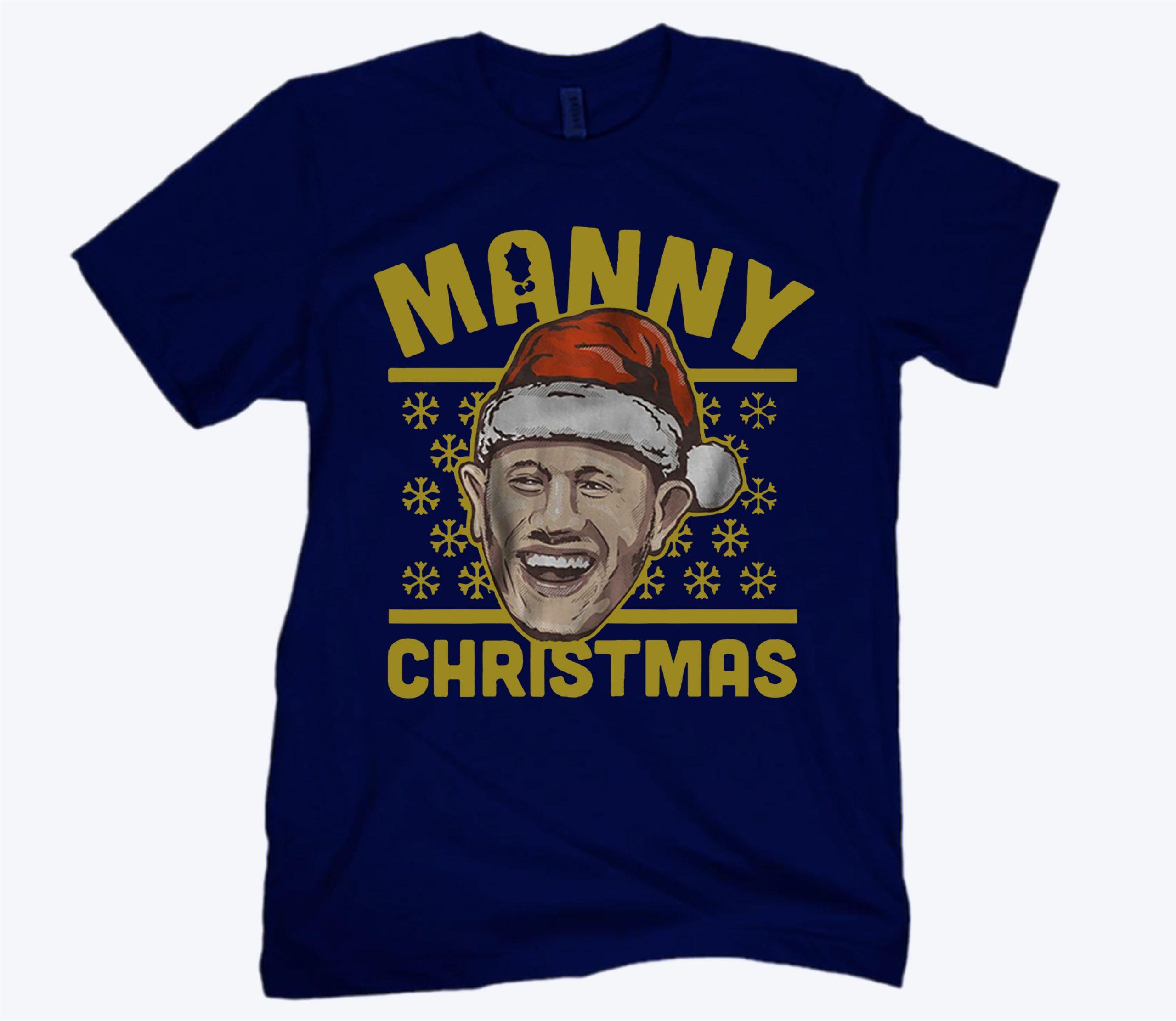 San Diego Manny Christmas Shirt