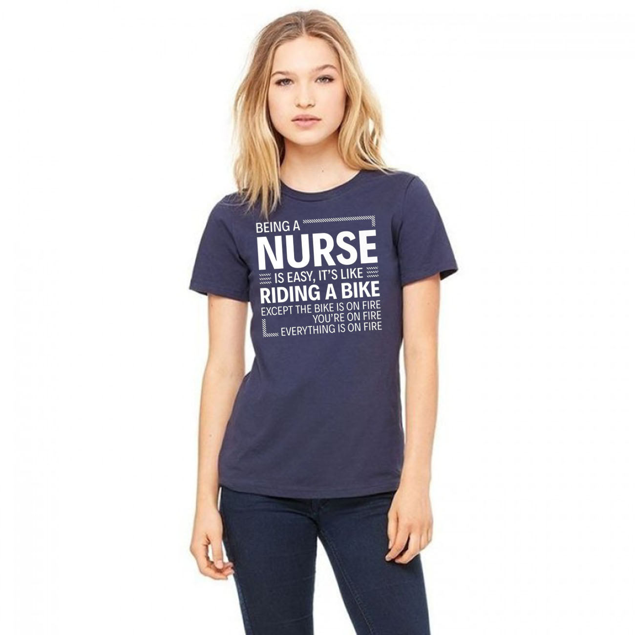 Being a Nurse is Easy Unisex T-Shirt