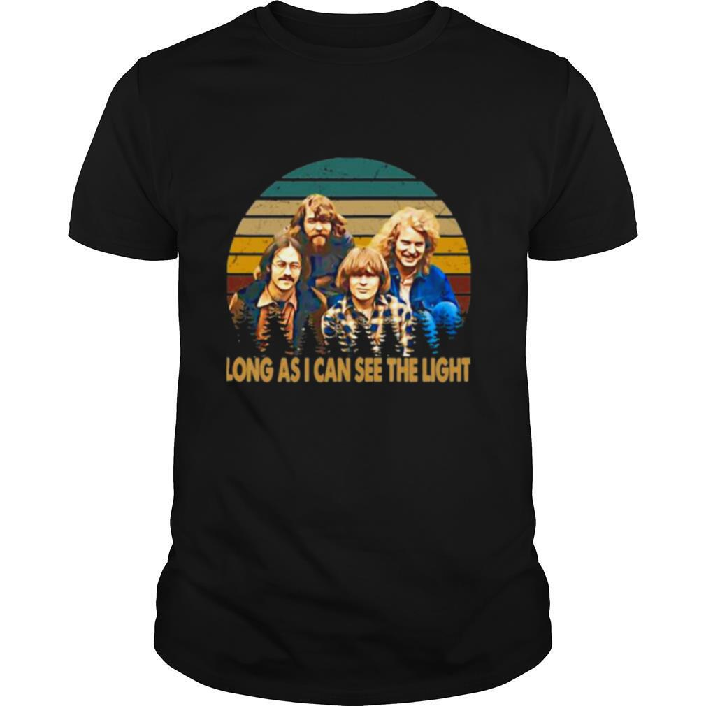 Creedence Clearwater Revival Long As I Can See The Light Vintage shirt