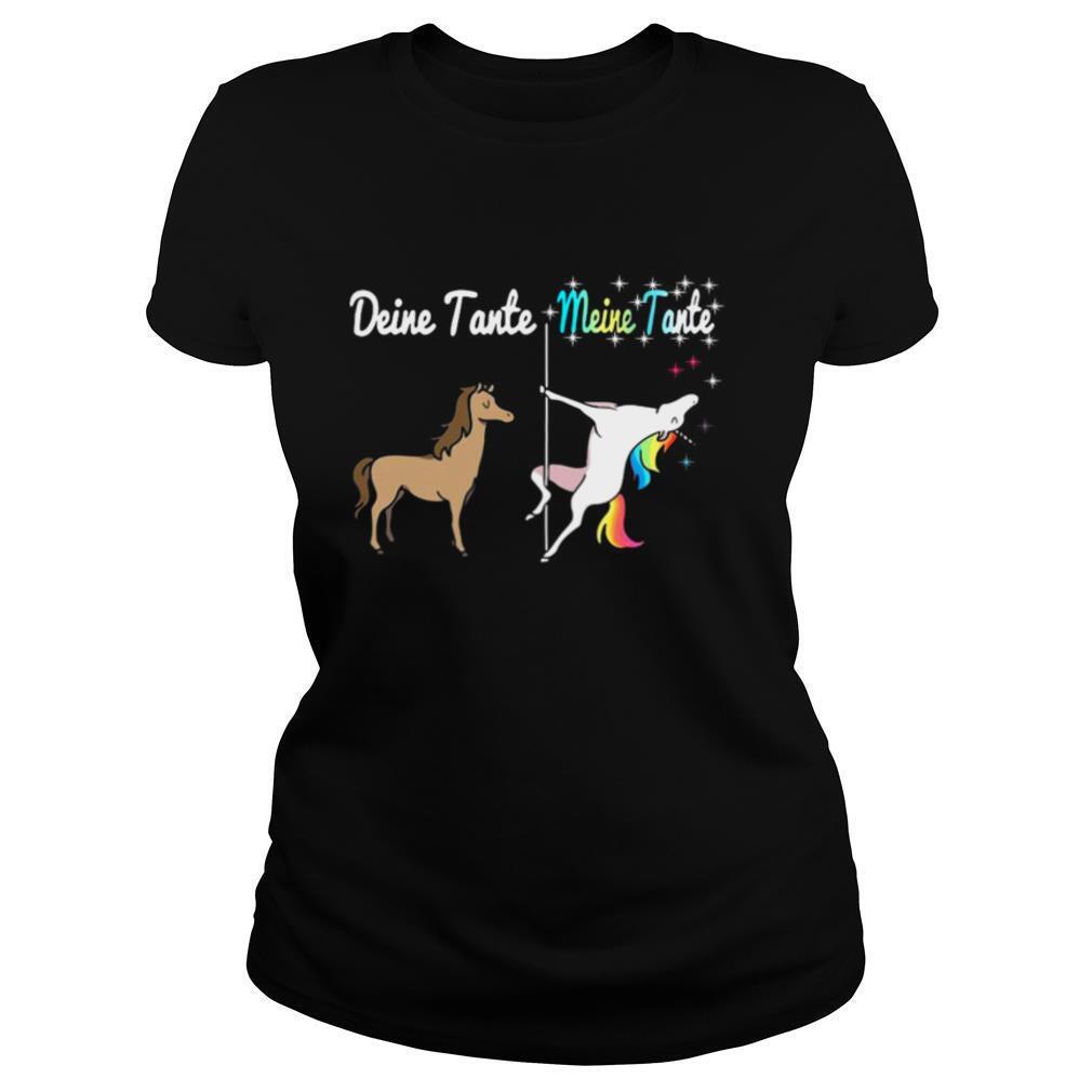 Deine Tante Meine Tante Unicorn shirt