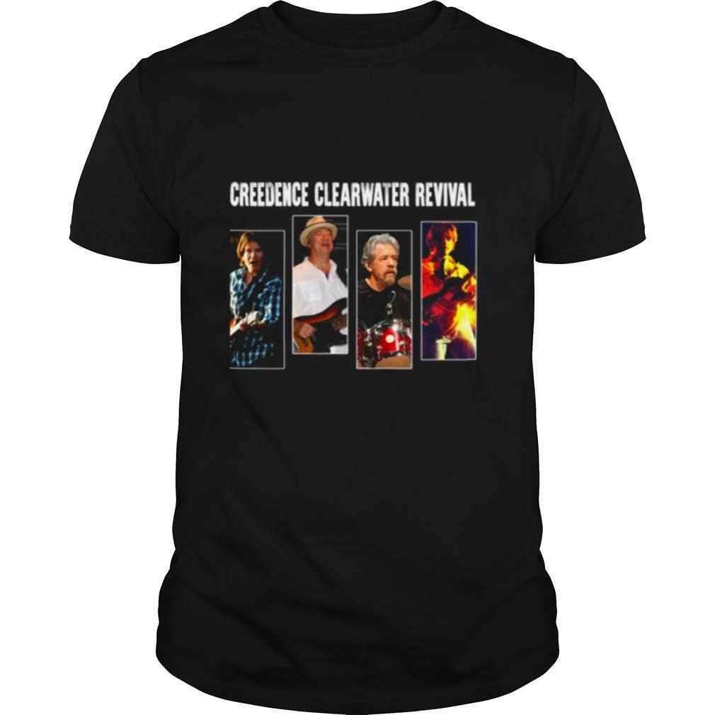 Graphic Creedence Clearwater Revival In Concert Camiseta Ajustable shirt