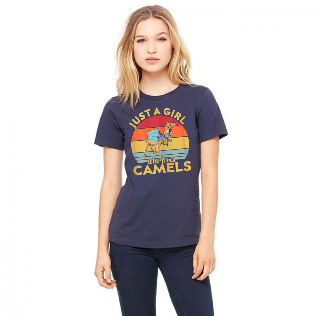 Just a Girl who loves Camels Gift T-Shirts