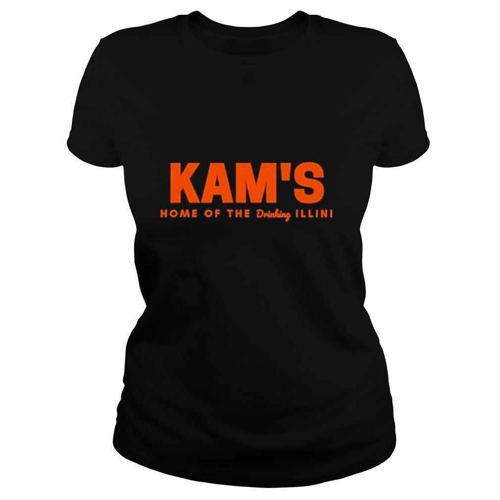 Kam's home of the drinking illini shirt