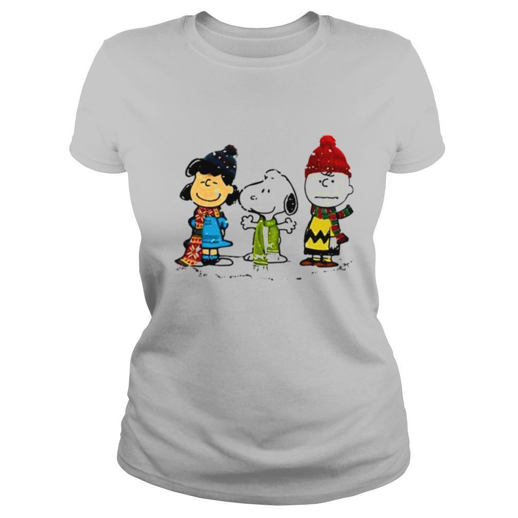 Snoopy Peanuts Merry Christmas shirt