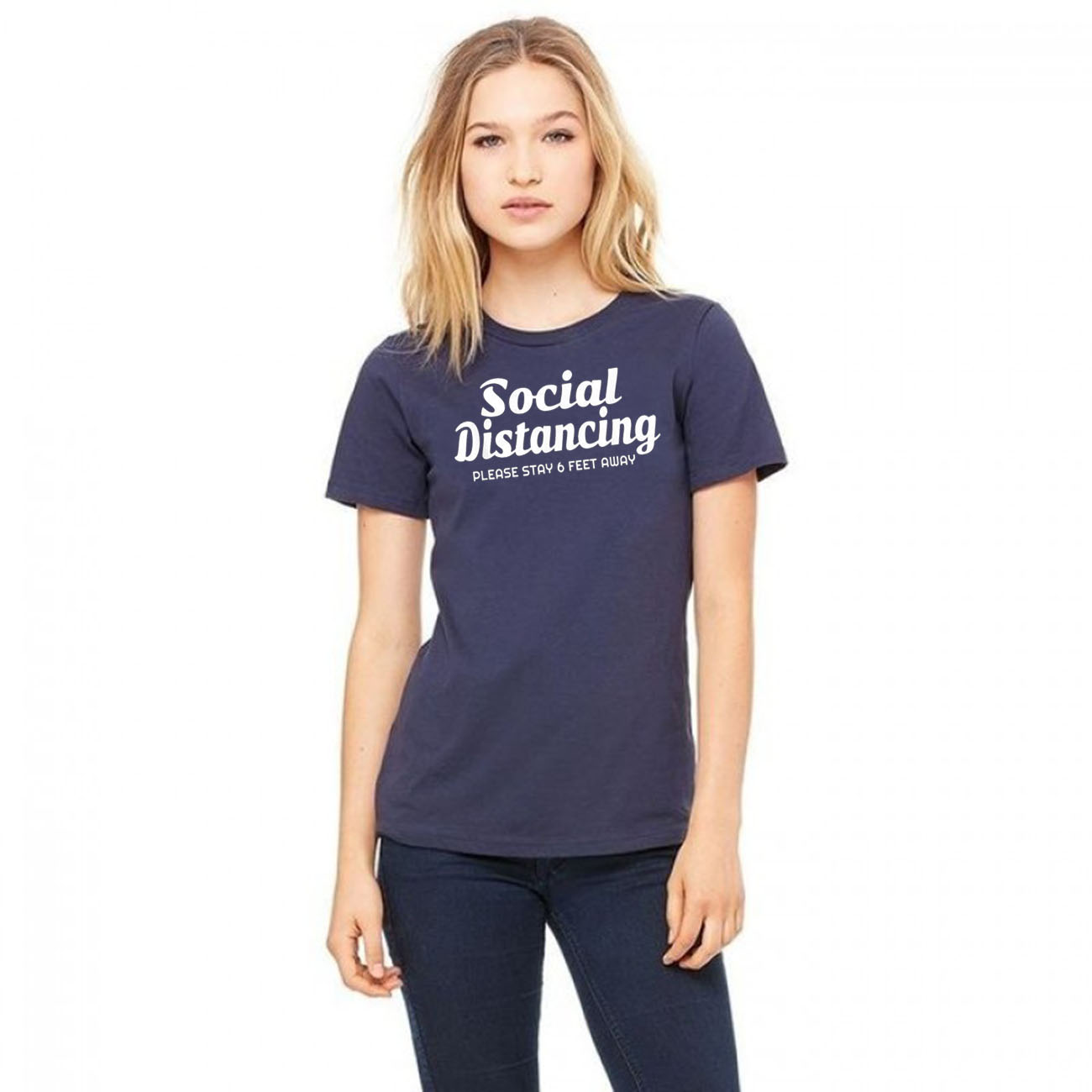 #Social distancing Shirt Please Stay 6 Feet Away Anti Social Classic T-Shirt