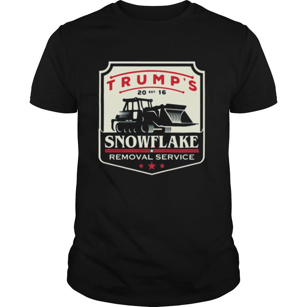 Trump's Snowflake Removal Service Car Draw shirt