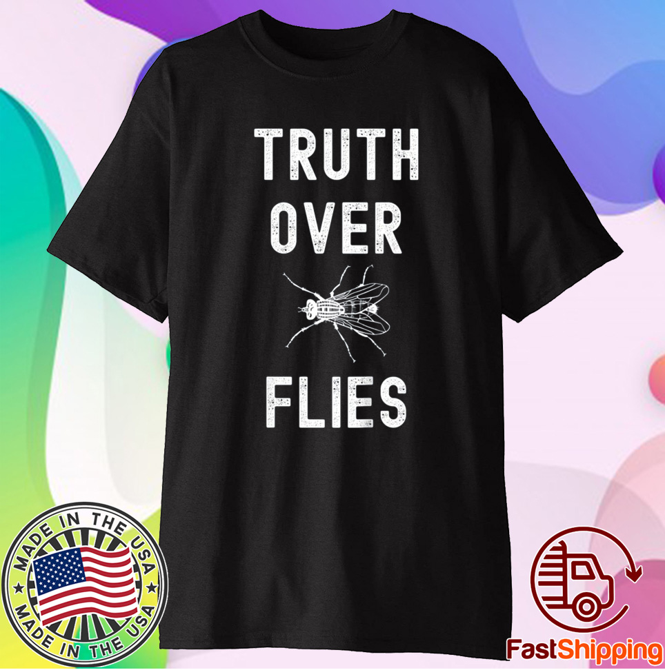 Truth Over Flies Anti Trump Vice President Debate Tee Shirt