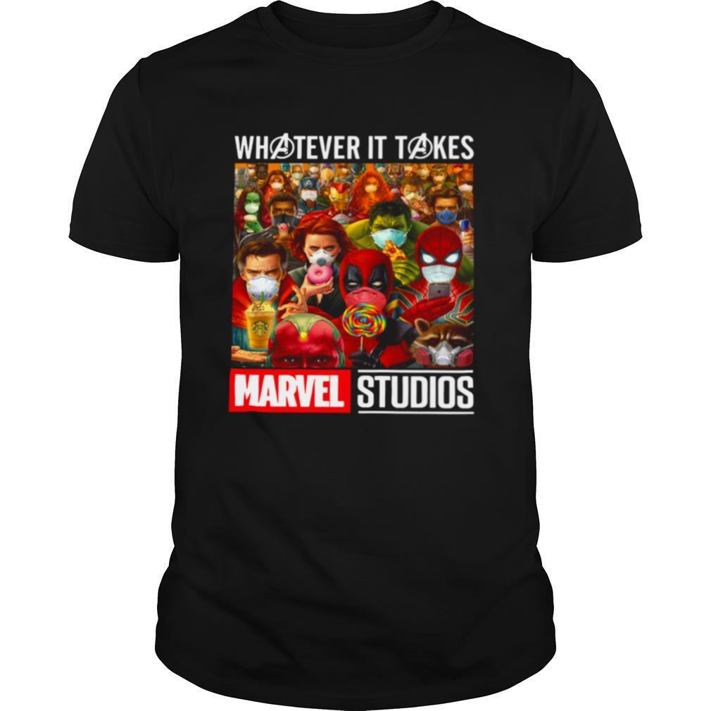 Whatever It Takes Marvel Studios Avengers Face Mask shirt