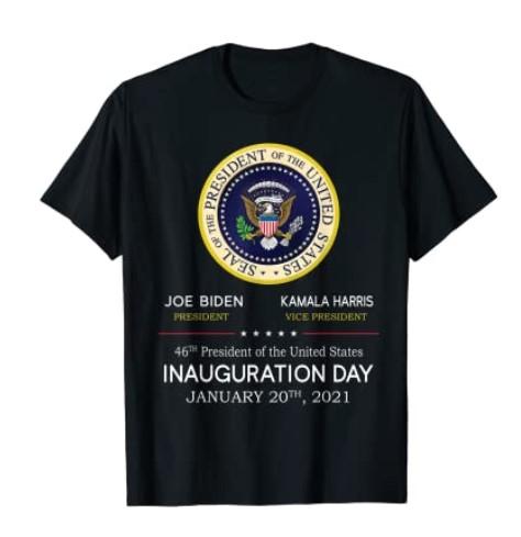 46th President Joe Biden - 2021 Inauguration Day Tee Shirt