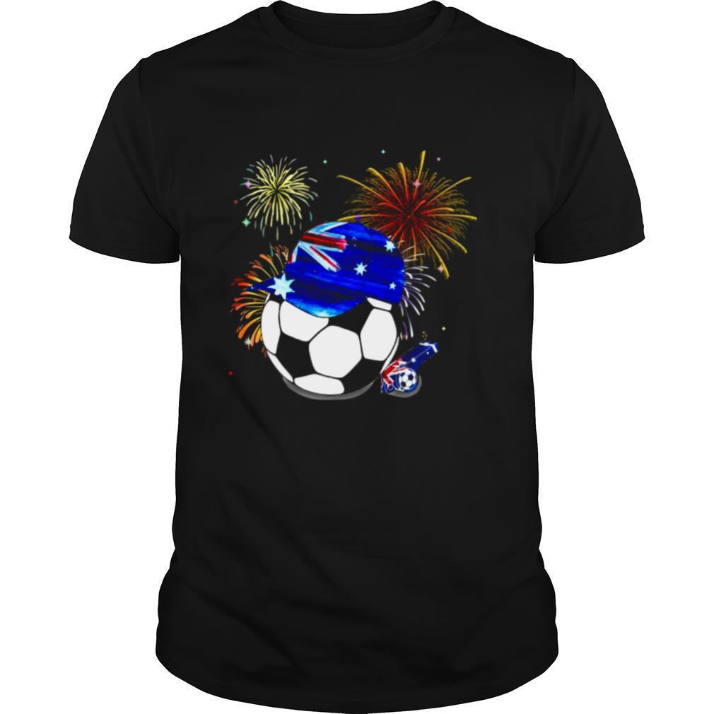 Australia Flag Football shirt