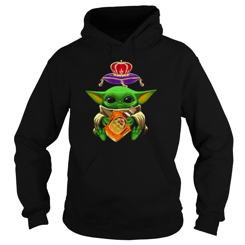 Baby Yoda Hug Crown Royal 2021 shirt