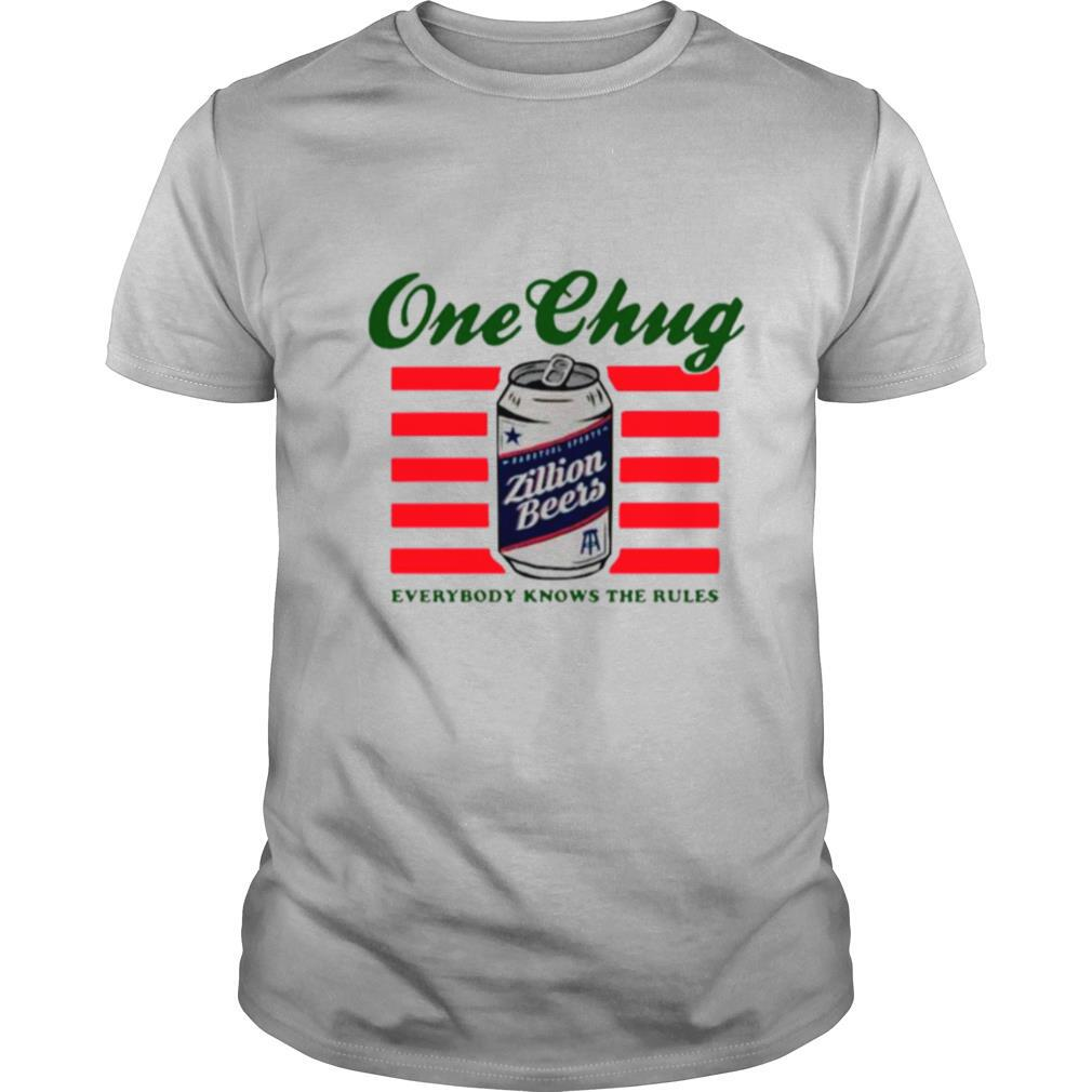 Beers One Chung Everybody Knows The Rules shirt