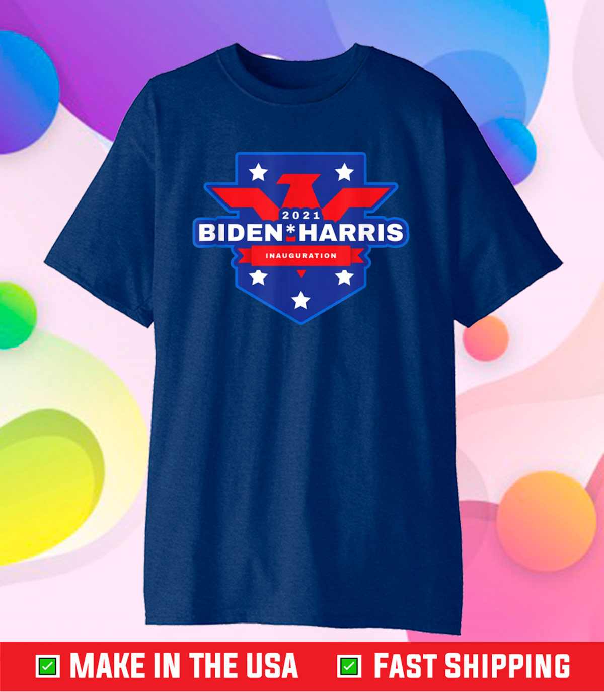 Biden Harris 2021 Inauguration Commemorative Souvenir Classic T-Shirt