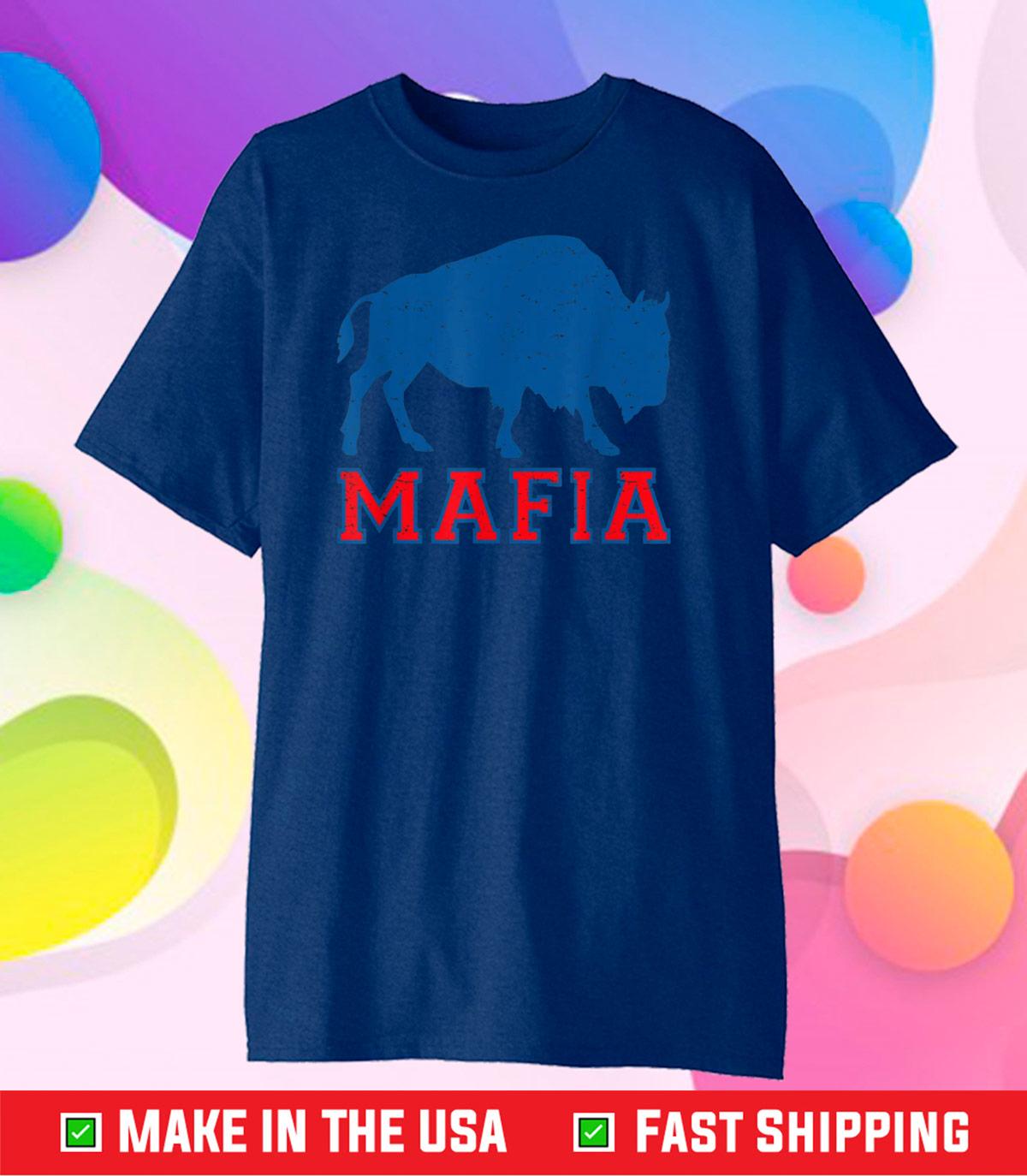 Bills Fan Mafia Buffalo Sports Fan Football Classic T-Shirt