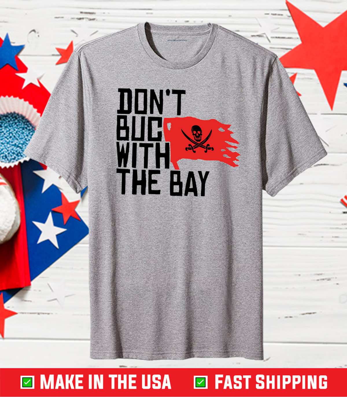Don't Buc With The Bay Classic T Shirts