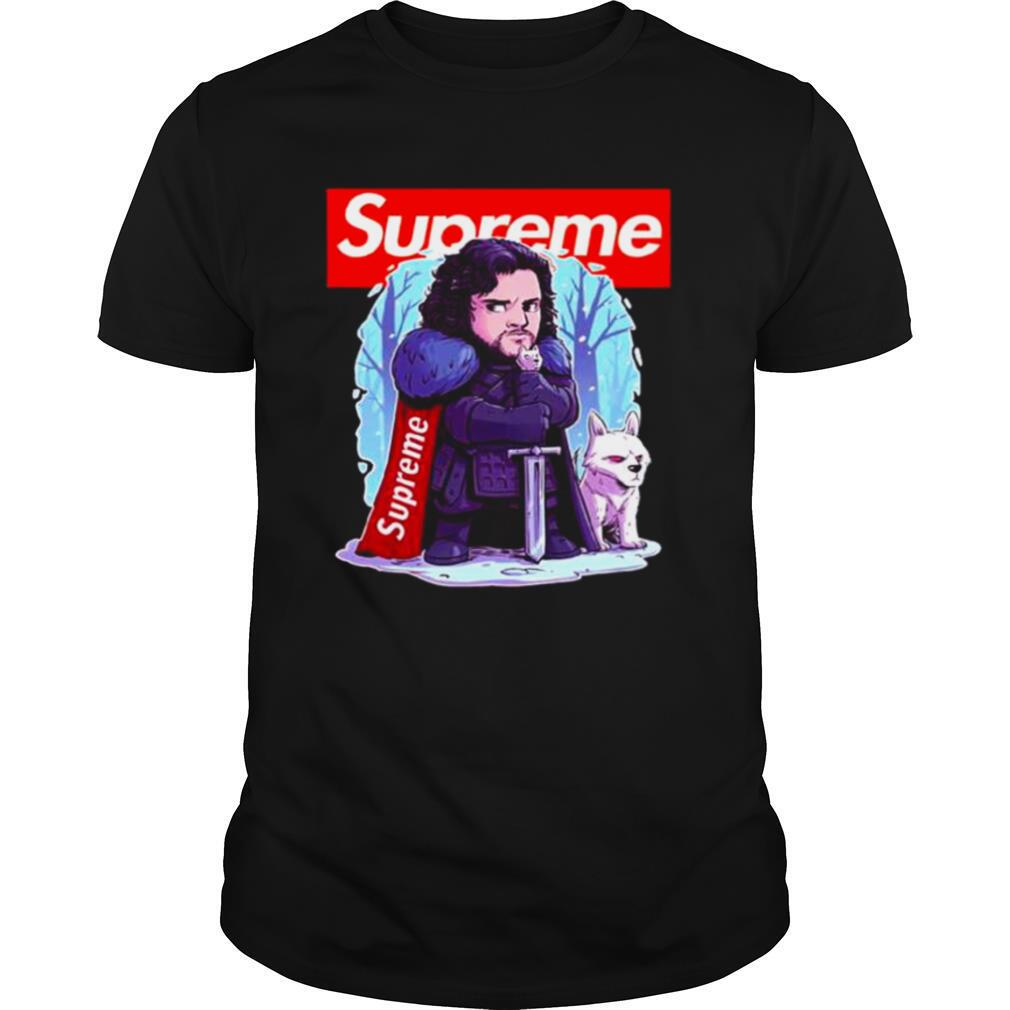 Funny Supreme Game of Thrones shirt
