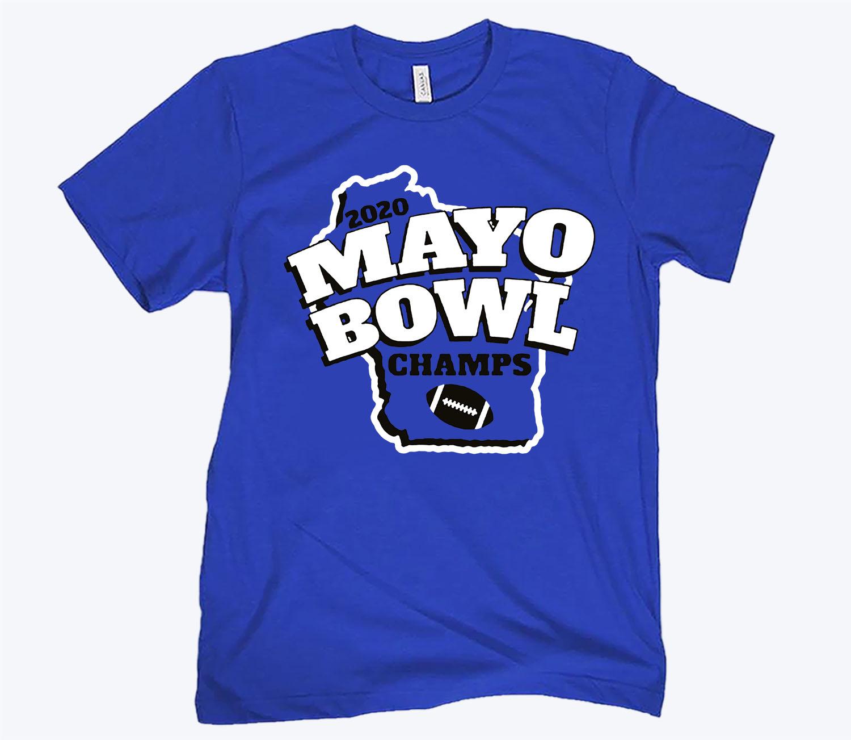 Mayo Bowl Champs Tee Shirt- CFB
