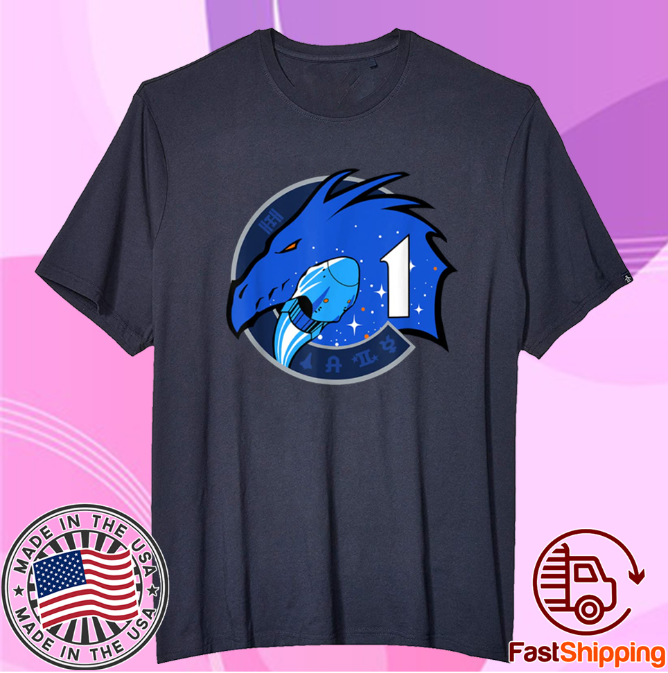 NASA Dragon Mission One Commercial Crew-1 Insignia 2020 Shirts
