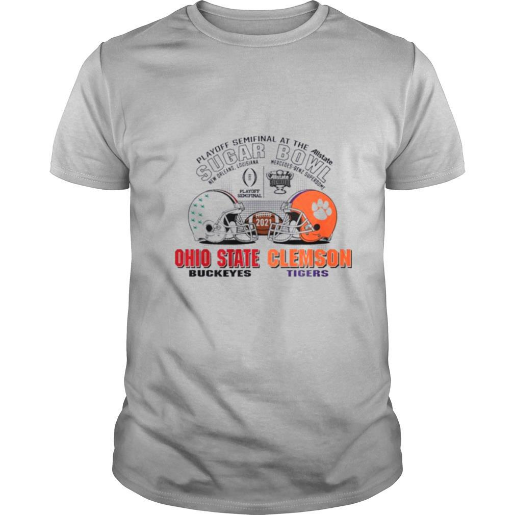 Ohio State Buckeyes Clemson Tigers Sugar Bowl Playoff Semifinals 2021 shirt