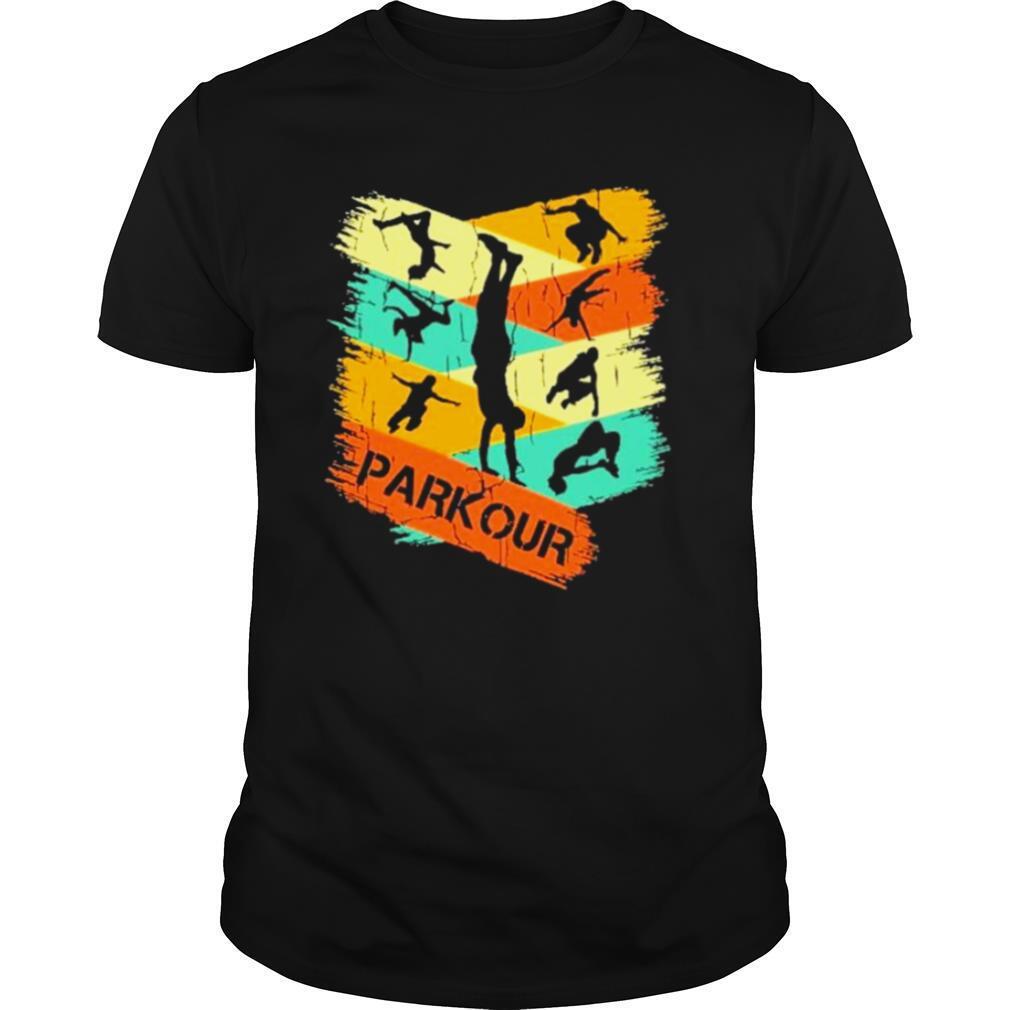 Parkour vintage 2021 shirt