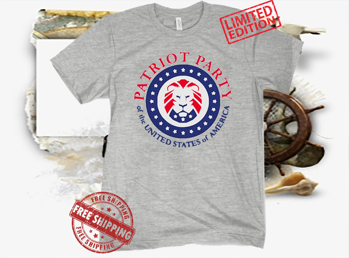 Patriot Party Of The United States Logo Tee Shirt