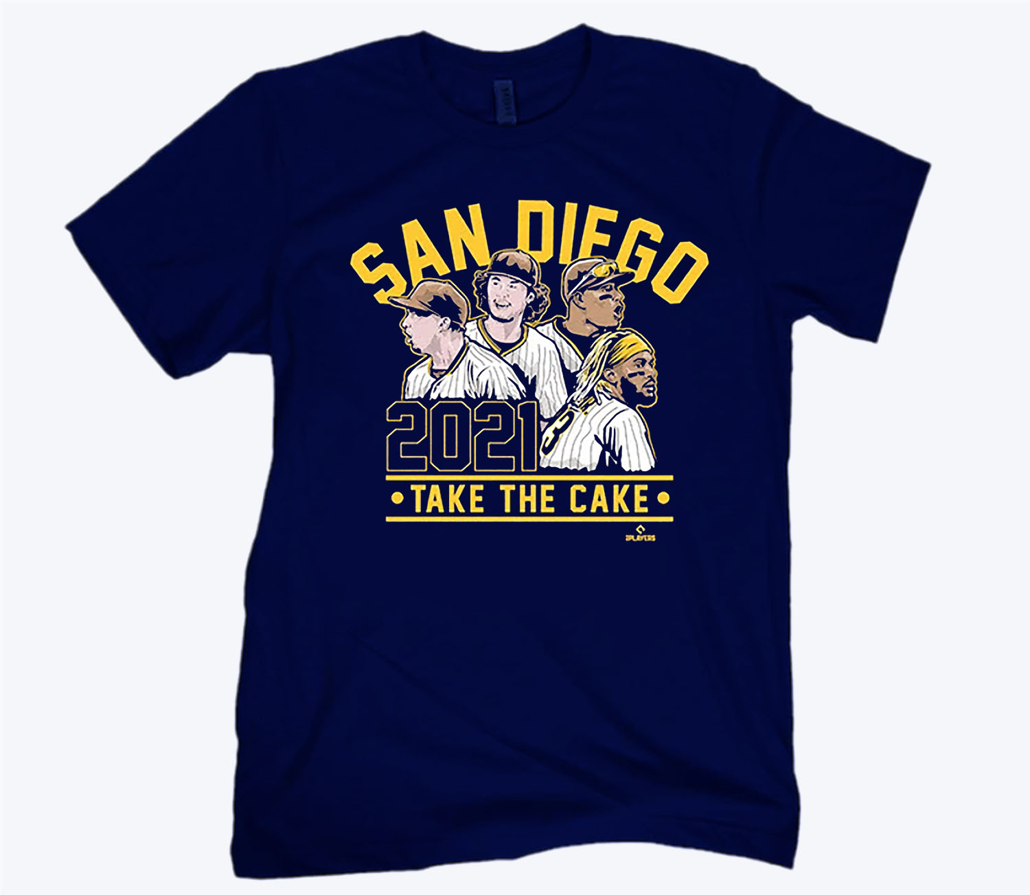San Diego 2021 Shirt Officially MLBPA Licensed