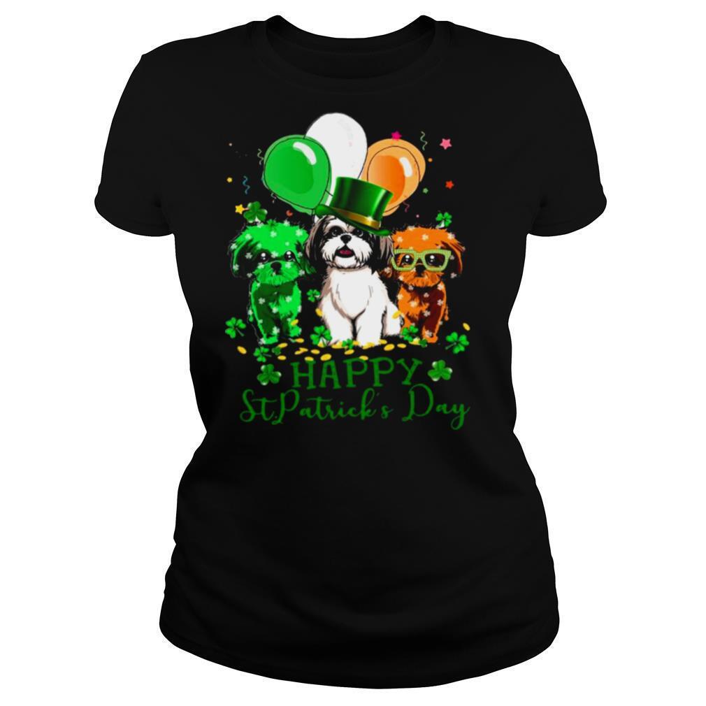 Shih Tzu Happy St.patricks Day 2021 shirt