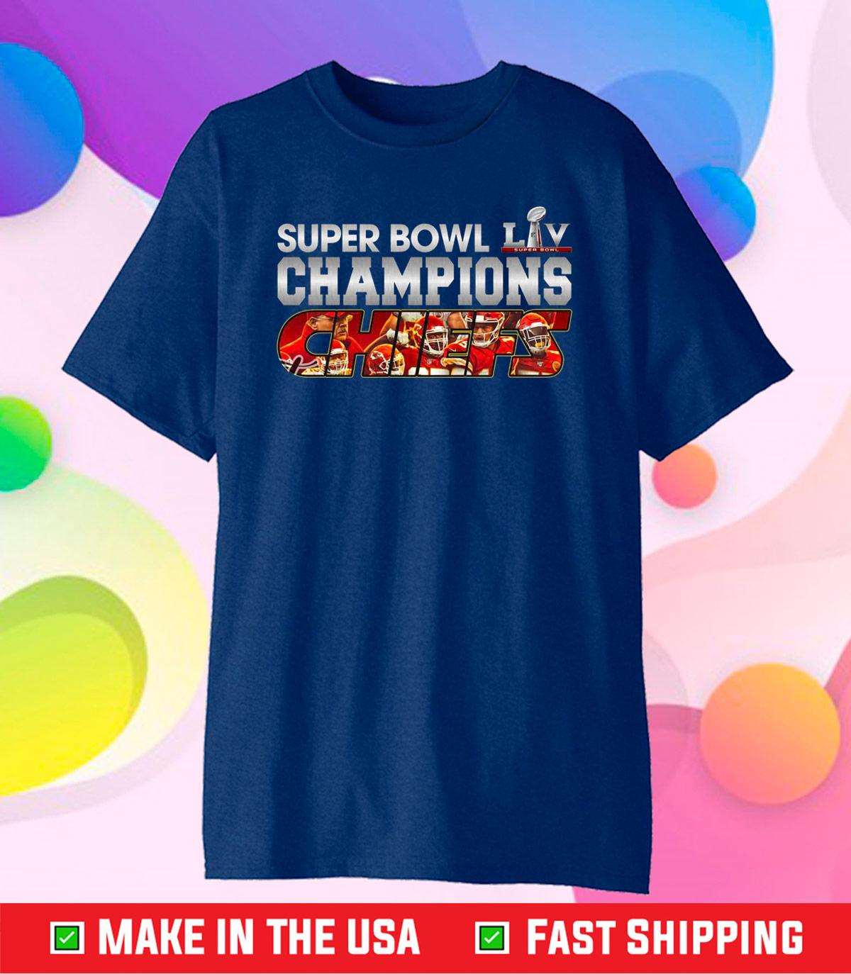 Super Bowl Champions 2021 Chiefs Shirt, Chiefs Super Bowl 2021 Champions Classic T-Shirt