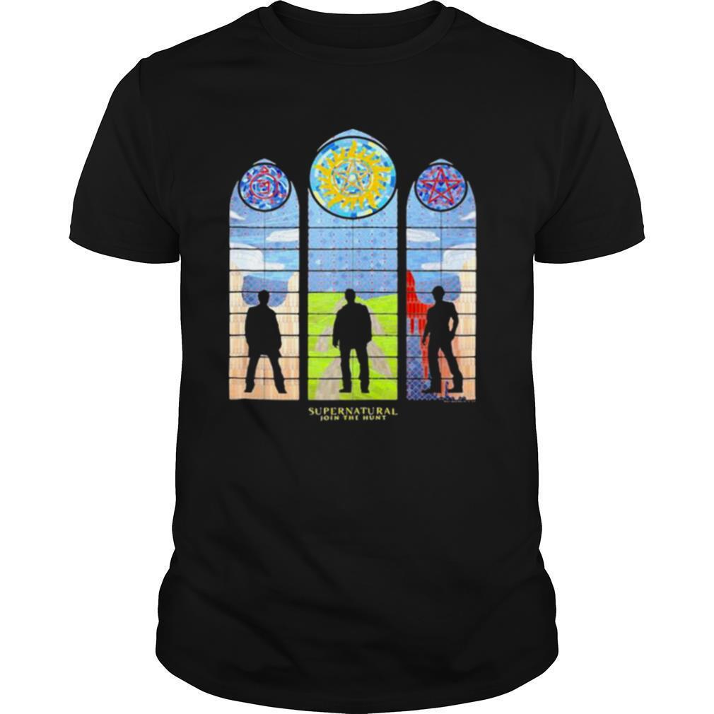 Supernatural John The Hunt shirt