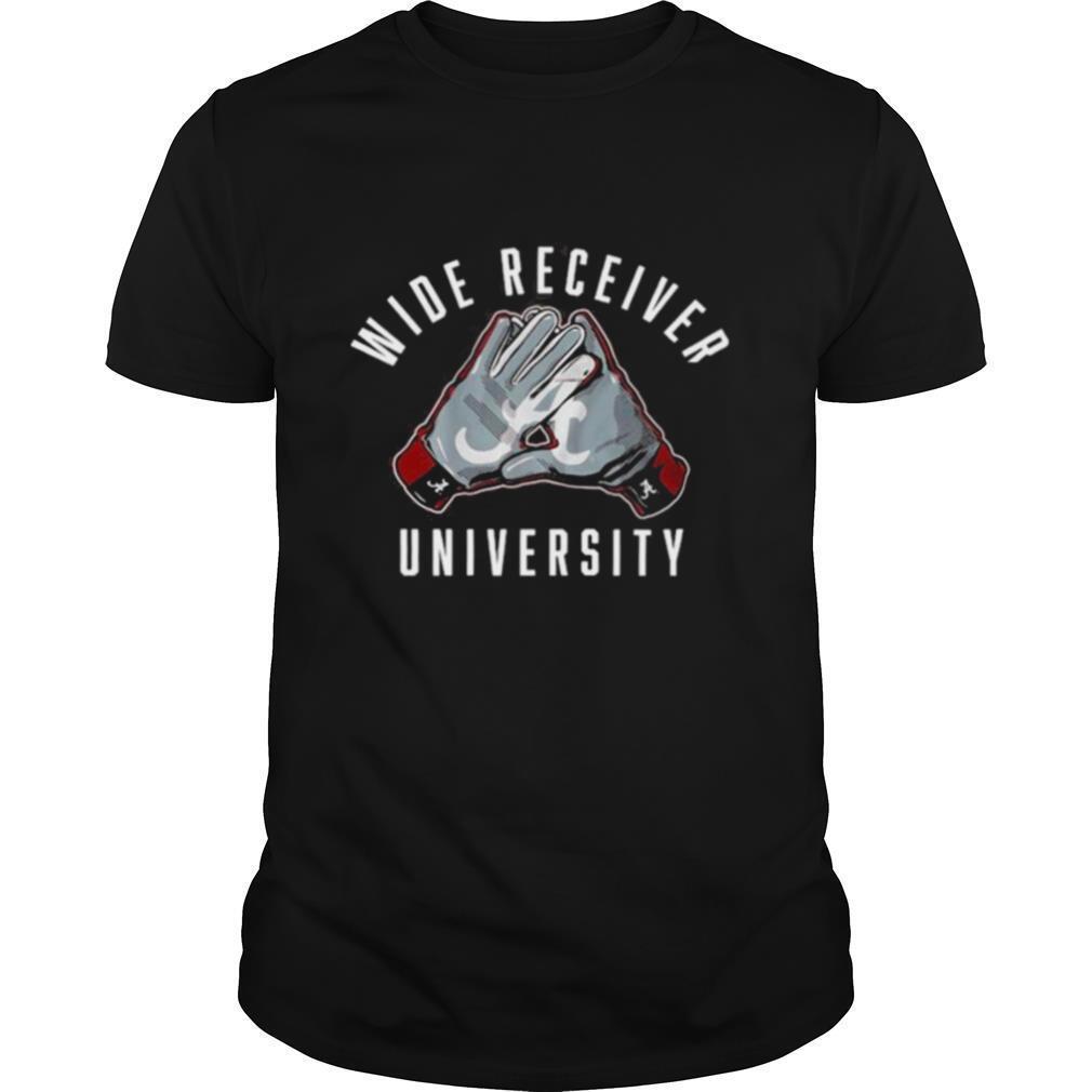 Wide Receiver University Alabama 2021 shirt