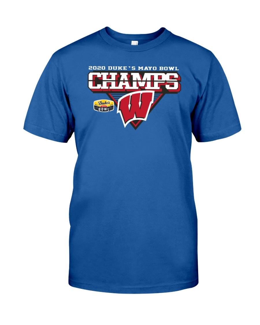 Wisconsin Badgers 2020 Duke's Mayo Bowl Champions 2021 Shirt