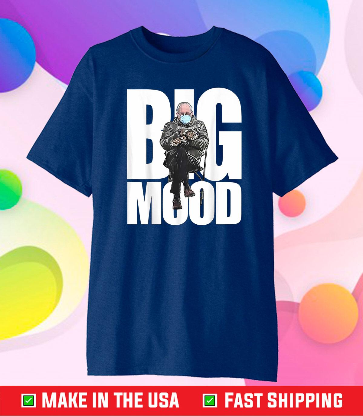 Biden Inauguration Bernie's Mittens Bernie Sanders Gift T-Shirt