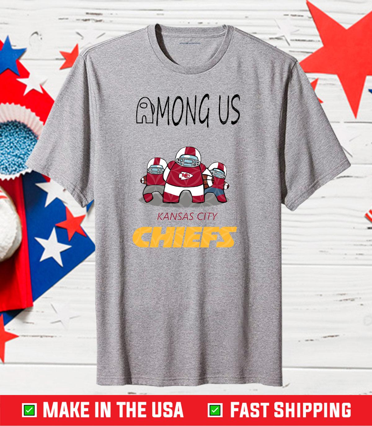 Kansas City Chiefs Among Us NFL,Kansas City Chiefs,Chiefs Among Us Classic T-Shirts