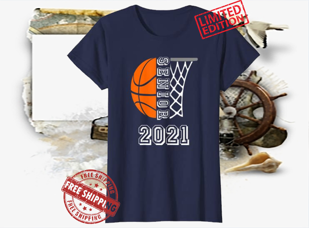 Senior Class 2021 Graduation Basketball Player Gift Classic T-Shirt