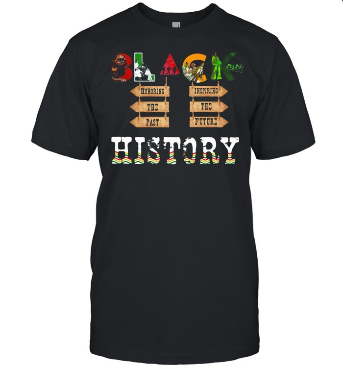 Black History Honoring The Past Inspiring The Future shirt Classic Men's T-shirt