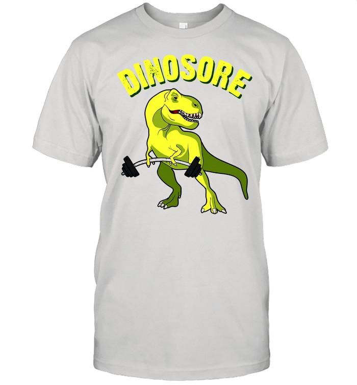 Dinosaur Dinosore Gym shirt Classic Men's T-shirt