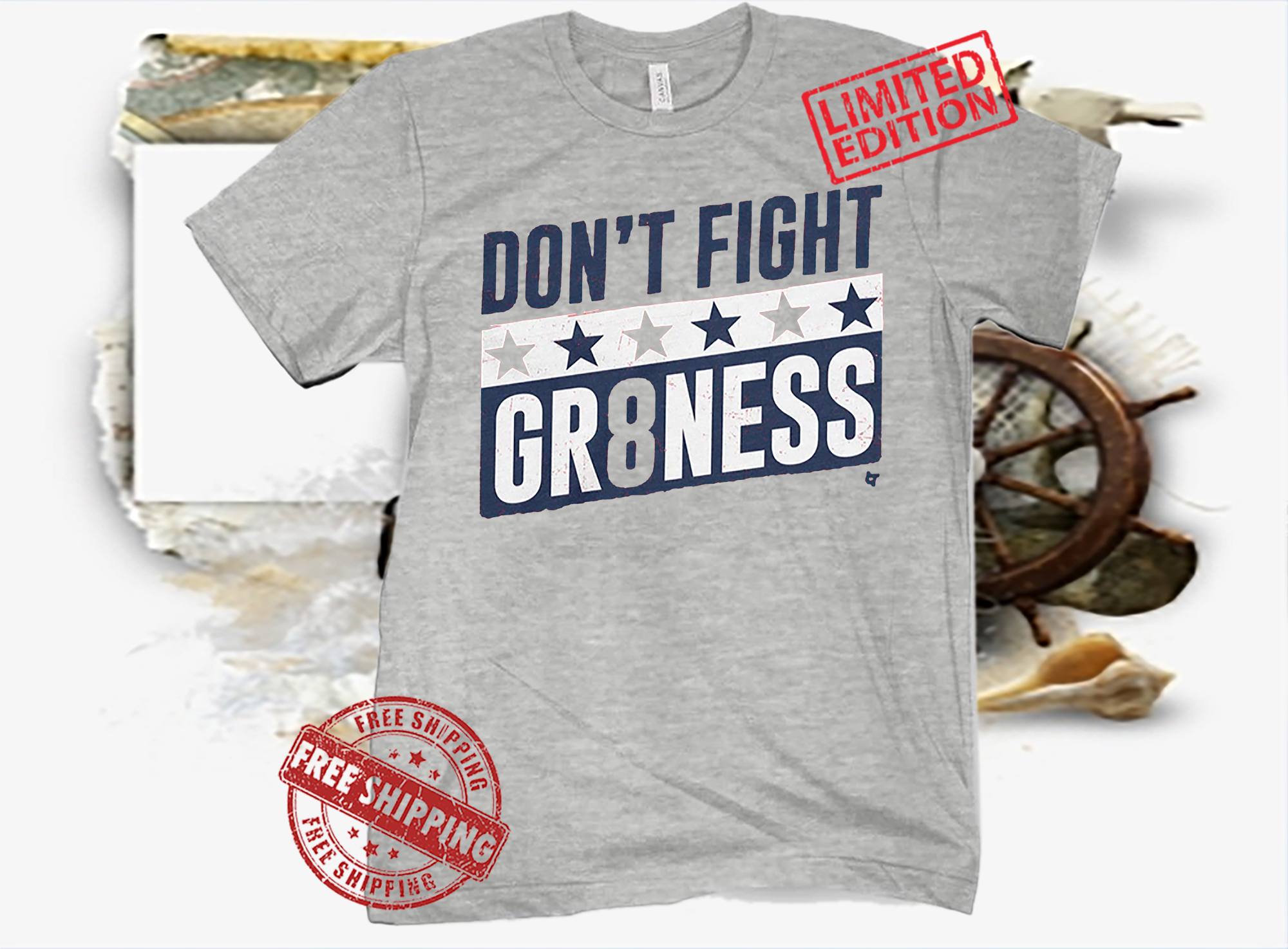 DON'T FIGHT GR8NESS SHIRT