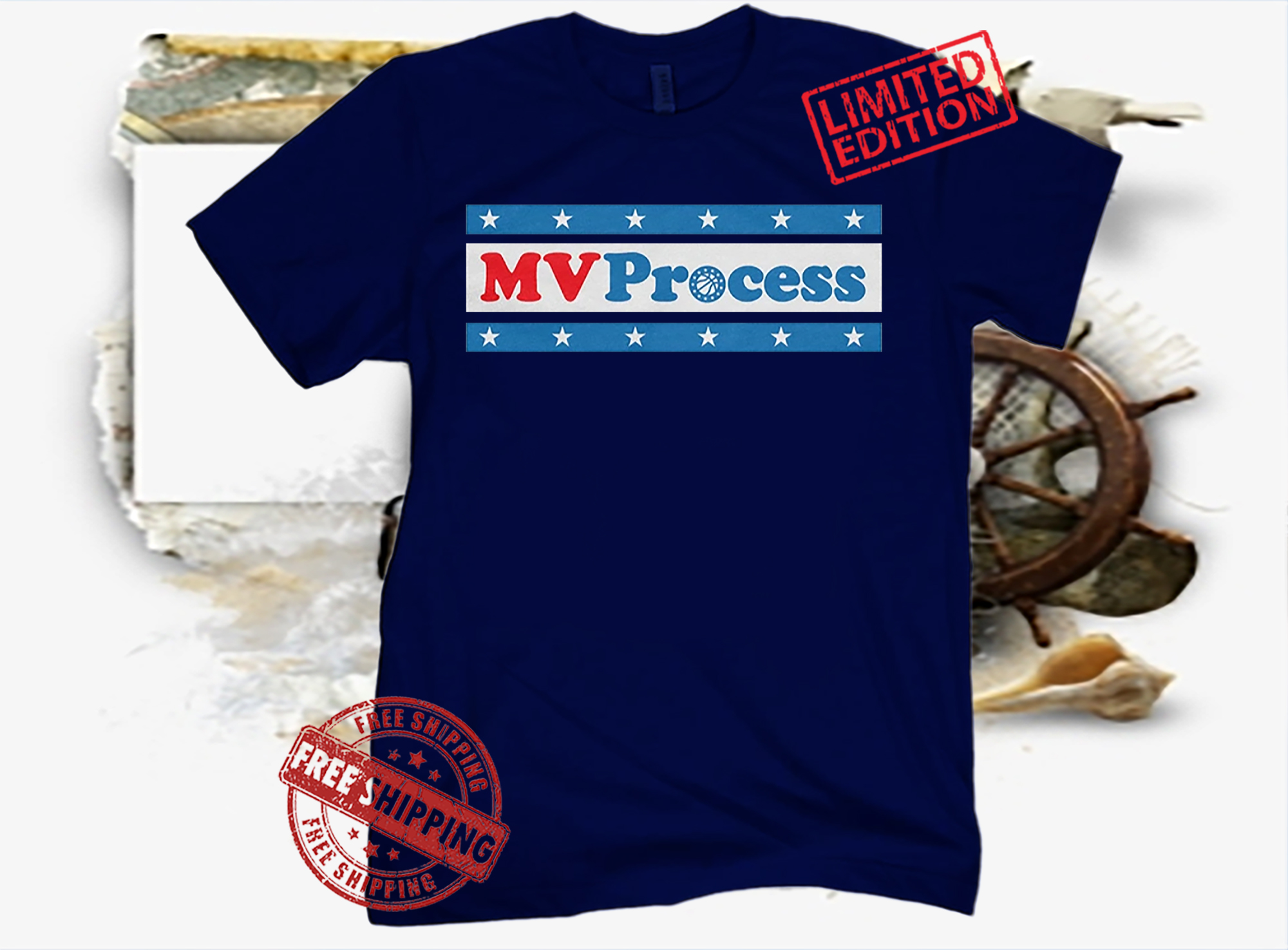 MVProcess Philadelphia Basketball Shirt
