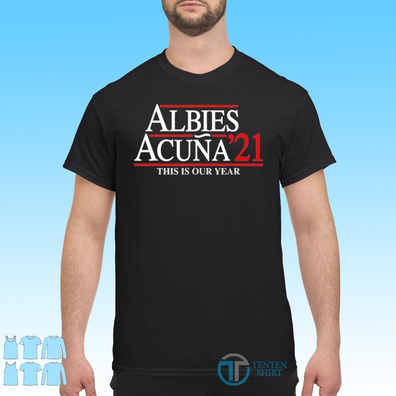 Albies Acuna 21 Shirt
