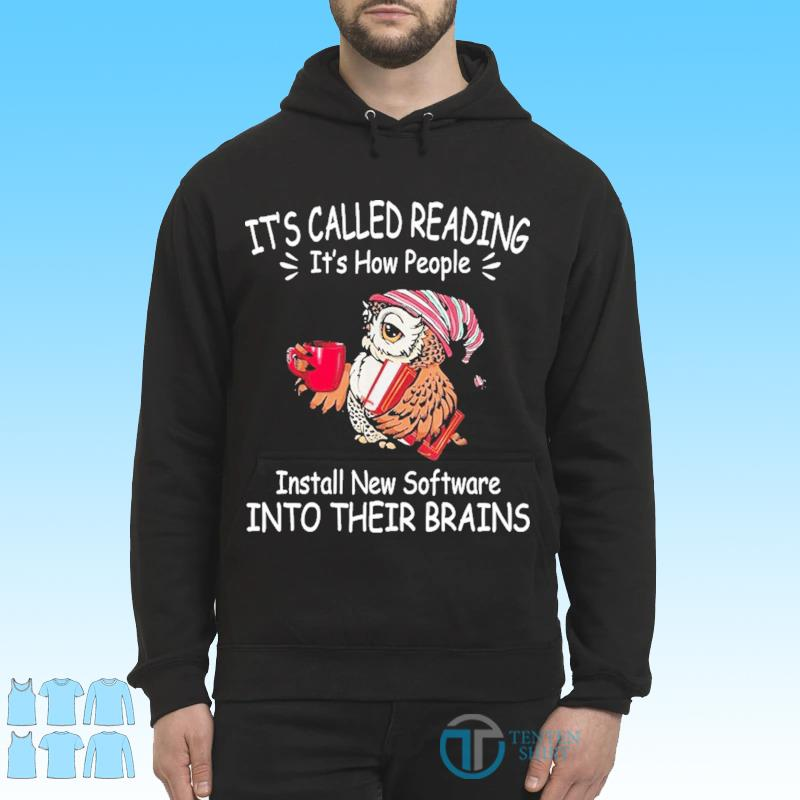 Its called reading its how people install new software s Hoodie