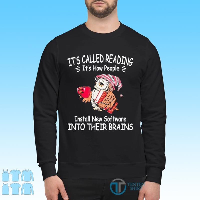 Its called reading its how people install new software s Sweater