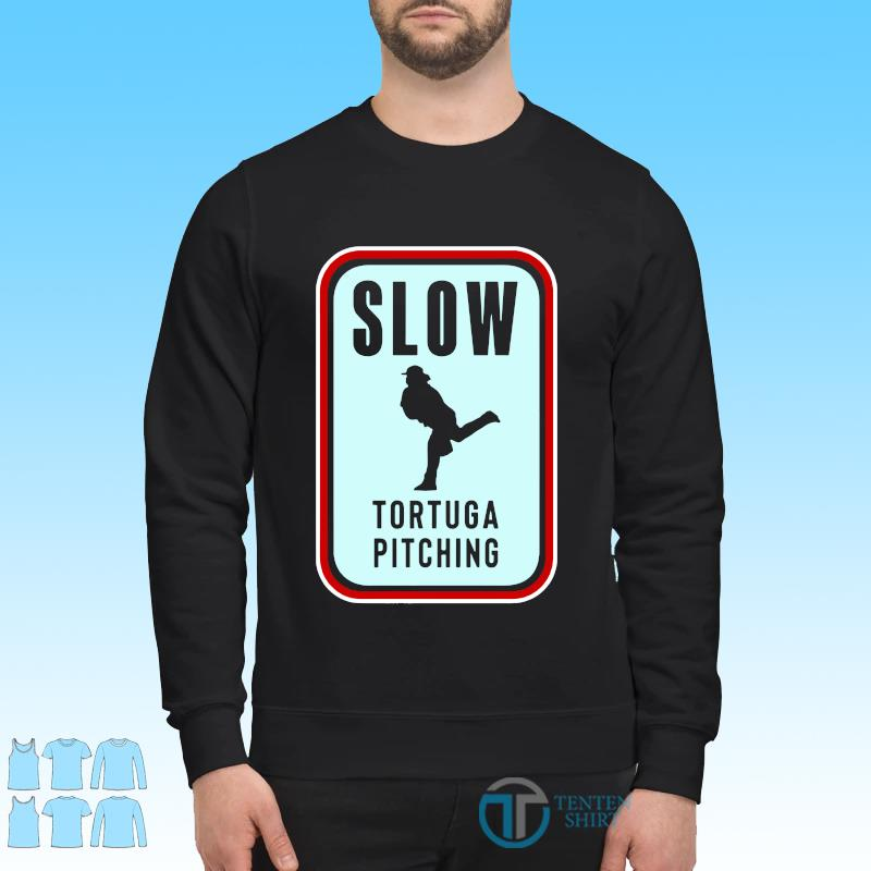 Official Slow Tortuga Pitching Shirt Sweater