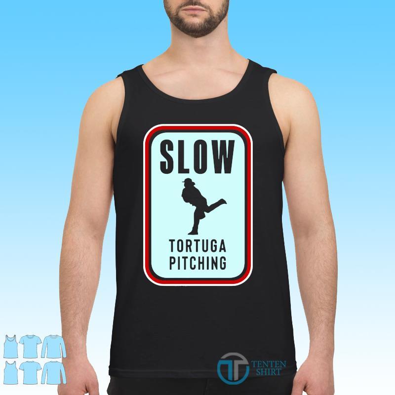 Official Slow Tortuga Pitching Shirt Tank top