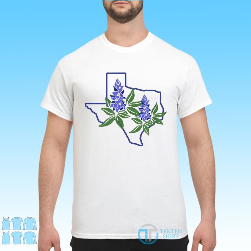 Official Texas Bluebonnet Wildflowers Shirt