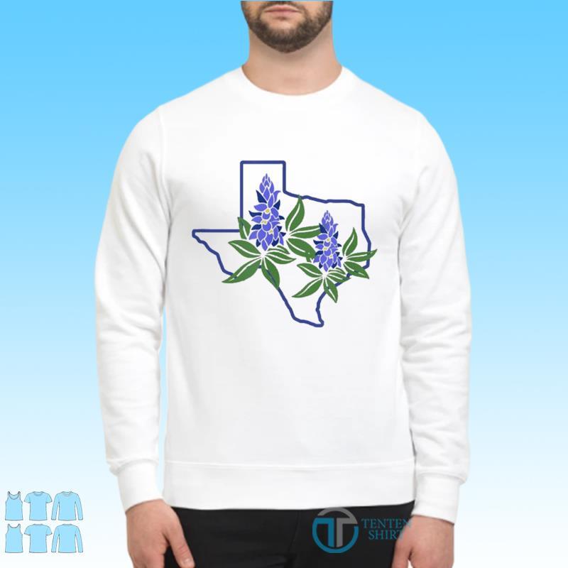 Official Texas Bluebonnet Wildflowers Shirt Sweater