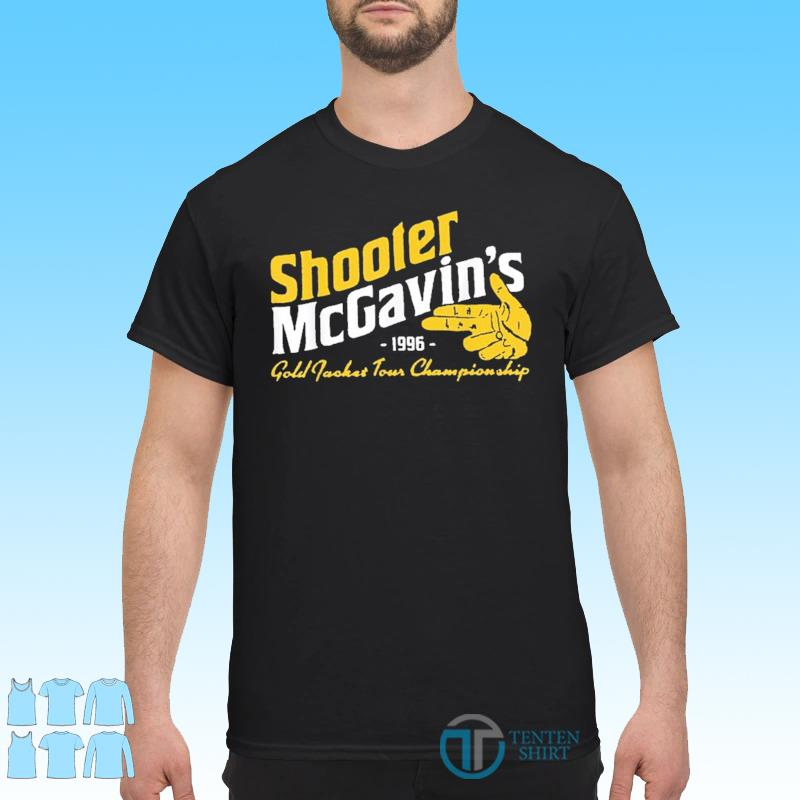 Shooter McGavins Gold Jacket Tour Championship Shirt